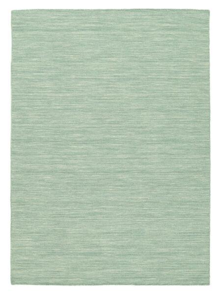 Kilim Loom - Mint Verde Tapete 160X230 Moderno Tecidos À Mão Azul Turquesa/Verde Pastel/Azul Claro (Lã, Índia)
