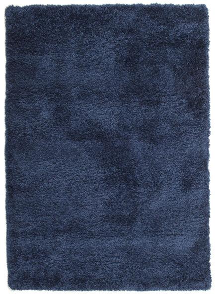 Shaggy Sadeh - Azul Tapete 120X170 Moderno Azul Escuro ( Turquia)