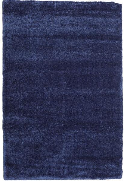 Shaggy Sadeh - Azul Tapete 200X300 Moderno Azul Escuro/Porpora Escuro ( Turquia)