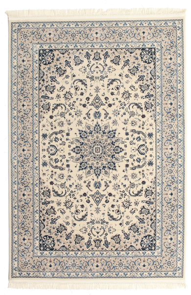 Nain Emilia - Bege/Azul Tapete 200X300 Oriental Cinzento Claro/Bege ( Turquia)