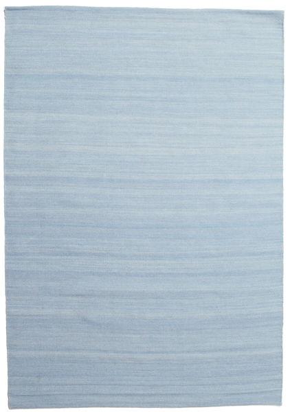 Kilim Loom - Azul Claro Tapete 160X230 Moderno Tecidos À Mão Azul Claro (Lã, Índia)