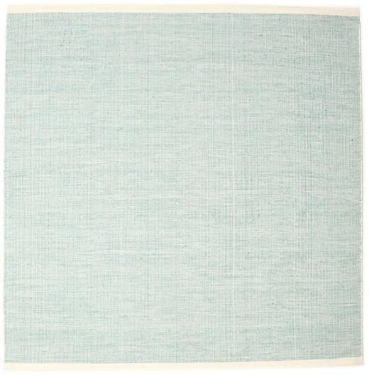 Seaby - Azul Tapete 250X250 Moderno Tecidos À Mão Quadrado Azul Turquesa/Verde Pastel Grande (Lã, Índia)
