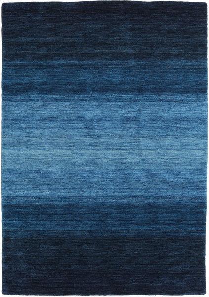 Gabbeh Rainbow - Azul Tapete 140X200 Moderno Azul Escuro/Azul (Lã, Índia)