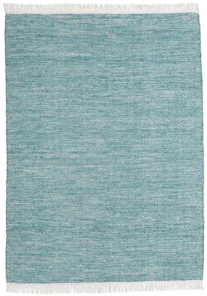 Diamond Lã - Azul Tapete 140X200 Moderno Tecidos À Mão Azul Claro/Turquesa Escuro (Lã, Índia)