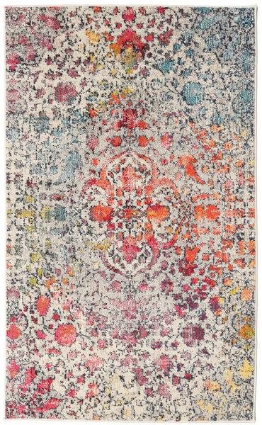 Kaleidoscope - Multi Tapete 100X160 Moderno Cinzento Claro/Luz Rosa ( Turquia)