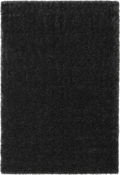 Lotus - Cinza Escuro Tapete 200X300 Moderno Preto ( Turquia)