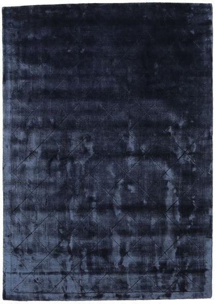 Brooklyn - Azul Noite Tapete 160X230 Moderno Azul Escuro/Azul ( Índia)