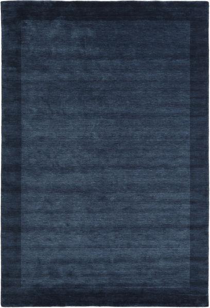 Handloom Frame - Azul Escuro Tapete 200X300 Moderno Azul Escuro/Azul (Lã, Índia)