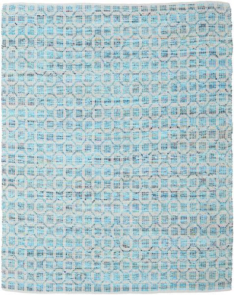 Elna - Bright_Blue Tapete 250X300 Moderno Tecidos À Mão Azul Claro/Cinzento Claro Grande (Algodão, Índia)