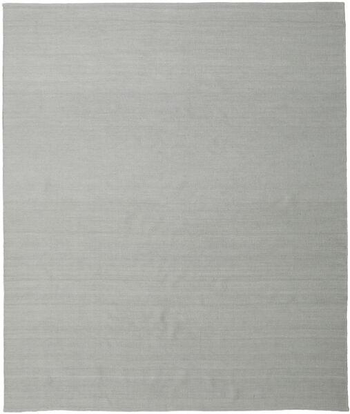 Kilim Loom - Cinzento Tapete 250X300 Moderno Tecidos À Mão Azul Turquesa/Cinzento Claro Grande (Lã, Índia)