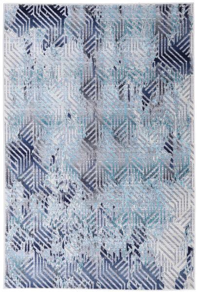 Rima - Teal Tapete 152X240 Moderno Azul Claro/Lilás ( Turquia)