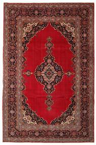 Kashan Patina Tapete 240X374 Oriental Feito A Mão Vermelho Escuro/Castanho Escuro (Lã, Pérsia/Irão)