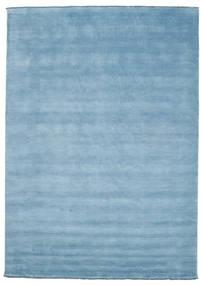 Handloom Fringes - Azul Claro Tapete 250X350 Moderno Azul Claro Grande (Lã, Índia)