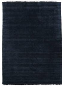Handloom Fringes - Azul Escuro Tapete 200X300 Moderno Azul Escuro/Azul (Lã, Índia)