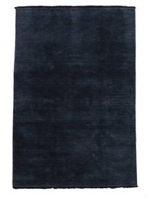 Handloom Fringes - Azul Escuro Tapete 160X230 Moderno Azul Escuro (Lã, Índia)