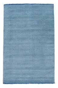Handloom Fringes - Azul Claro Tapete 100X160 Moderno Azul Claro (Lã, Índia)