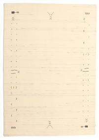 Gabbeh Loom Frame - Branco Pérola Tapete 160X230 Moderno Bege/Bege Escuro (Lã, Índia)
