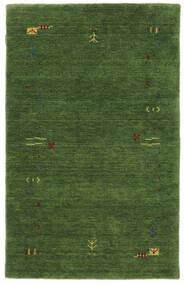 Gabbeh Loom Frame - Verde Tapete 100X160 Moderno Verde Escuro/Verde Escuro (Lã, Índia)