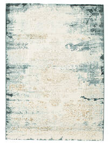 Alaska - Claro Azul/Cream Tapete 140X200 Moderno Cinzento Claro/Branco/Creme/Bege ( Turquia)