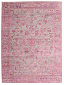 Maharani - Cinzento/Rosa Tapete 160X230 Moderno Luz Rosa/Lilás ( Turquia)
