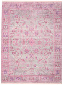Maharani - Cinzento/Rosa Tapete 250X350 Moderno Luz Rosa/Bege Grande ( Turquia)
