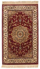 Nahal - Castanho Alaranjado Tapete 100X160 Moderno Castanho Escuro/Vermelho Escuro ( Turquia)