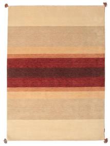Loribaf Loom Tapete 173X241 Moderno Feito A Mão Bege Escuro/Castanho Claro/Vermelho Escuro (Lã, Índia)