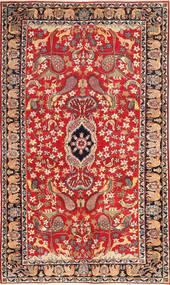 Najafabad Patina Figurativo/Imagens Tapete 188X320 Oriental Feito A Mão Castanho Alaranjado/Vermelho Escuro (Lã, Pérsia/Irão)