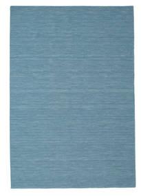Kilim Loom - Azul Tapete 200X300 Moderno Tecidos À Mão Azul Turquesa/Azul Claro (Lã, Índia)