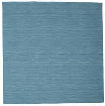 Kilim Loom - Azul Tapete 200X200 Moderno Tecidos À Mão Quadrado Azul Turquesa/Azul (Lã, Índia)