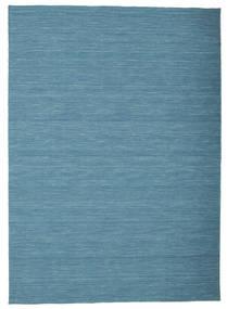 Kilim Loom - Azul Tapete 160X230 Moderno Tecidos À Mão Azul Turquesa/Azul (Lã, Índia)