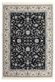 Nain Florentine - Azul Escuro Tapete 250X350 Oriental Preto/Cinzento Claro Grande ( Turquia)