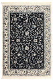 Nain Florentine - Azul Escuro Tapete 200X300 Oriental Cinzento Claro/Bege/Preto ( Turquia)