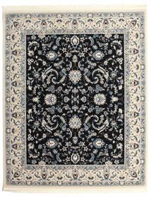 Nain Florentine - Azul Escuro Tapete 250X300 Oriental Cinzento Claro/Preto Grande ( Turquia)