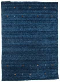 Gabbeh Loom Two Lines - Azul Escuro Tapete 240X340 Moderno Azul Escuro (Lã, Índia)
