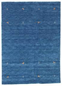 Gabbeh Loom Two Lines - Azul Tapete 160X230 Moderno Azul Escuro/Azul (Lã, Índia)