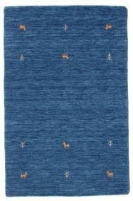 Gabbeh Loom Two Lines - Azul Tapete 100X160 Moderno Azul Escuro/Azul (Lã, Índia)