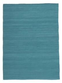 Kilim Loom - Azul Petroleo Tapete 160X230 Moderno Tecidos À Mão Azul/Azul Turquesa (Lã, Índia)