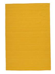 Kilim Loom - Amarelo Tapete 160X230 Moderno Tecidos À Mão Laranja (Lã, Índia)