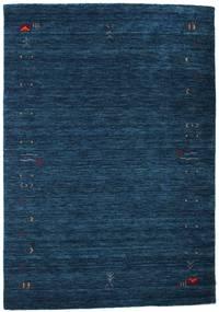 Gabbeh Loom Frame - Azul Escuro Tapete 140X200 Moderno Azul Escuro (Lã, Índia)