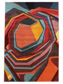 Duet Tapete 160X230 Moderno Vermelho/Vermelho Escuro ( Turquia)