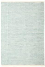 Seaby - Azul Tapete 160X230 Moderno Tecidos À Mão Azul Turquesa/Branco/Creme (Lã, Índia)