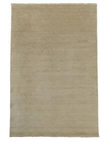 Handloom Fringes - Greige Tapete 300X400 Moderno Cinzento Claro Grande (Lã, Índia)