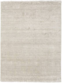 Handloom Fringes - Greige Tapete 200X250 Moderno Cinzento Claro (Lã, Índia)