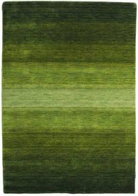 Gabbeh Rainbow - Verde Tapete 140X200 Moderno Verde Escuro/Verde Azeitona (Lã, Índia)