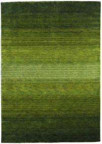 Gabbeh Rainbow - Verde Tapete 160X230 Moderno Verde Escuro/Verde Azeitona (Lã, Índia)