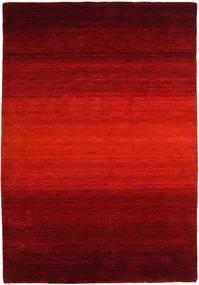 Gabbeh Rainbow - Vermelho Tapete 160X230 Moderno Castanho Alaranjado/Vermelho Escuro/Castanho Escuro (Lã, Índia)