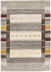 Loribaf Loom Designer - Warm Cinzento Tapete 140X200 Moderno Cinzento Claro/Bege (Lã, Índia)