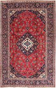Kashan Patina Tapete 188X295 Oriental Feito A Mão Vermelho Escuro/Porpora Escuro (Lã, Pérsia/Irão)