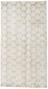 Colored Vintage Tapete 107X198 Moderno Feito A Mão Cinzento Claro/Bege Escuro (Lã, Turquia)